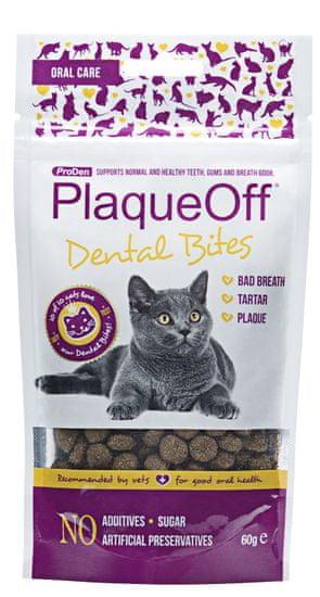 ProDen PlaqueOff Dental Bites Cat 60 g