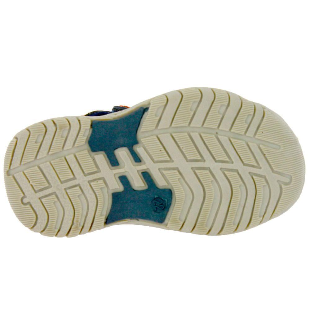 V+J dětská obuv 151-0022-T1 24 modrá