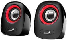 Genius SP-Q160, fekete/piros (31730027401)
