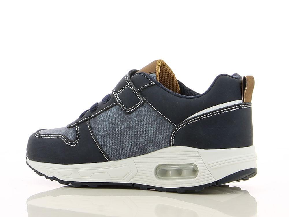 V+J dětská obuv 491082 33 tmavě modrá