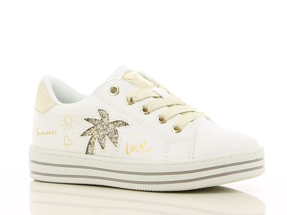 V+J dětská obuv 494591/847 33 bílá
