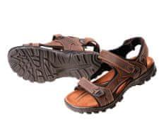CRV Pánske kožené sandále Wulik hnedá 45