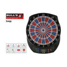 Bull's Elektronický terč na šipky Scorpy s adaptérom