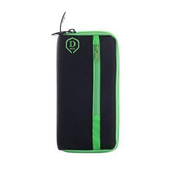 One80 Puzdro na šípky , MINI D Box, zelené, čierne