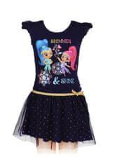 "SETINO Otroška obleka ""Shimmer and Shine"" - Črna - 98 / 2–3 leta"