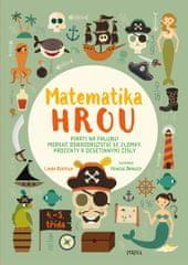 Bertola Linda: Matematika hrou 6: 4.–5. třída. Piráti na palubu! Mořské dobrodružství se zlomky, pro