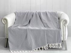 Denizli Concept Cienka narzuta na łóżko TRENDY jasnoszary 170x230 cm.