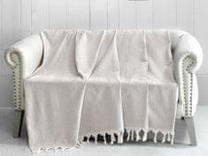 Denizli Concept Cienka narzuta na łóżko TRENDY jasnobeżowy 170x230 cm.