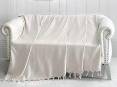 Denizli Concept Cienka narzuta na łóżko TRENDY naturalny kolor 170x230 cm.