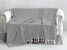 Denizli Concept Cienka narzuta na łóżko TRENDY czarny 170x230 cm.