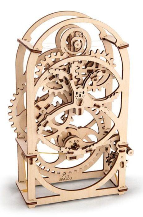 UGEARS 3D dřevěné puzzle Hodiny - časovač (20min) 107 dílků