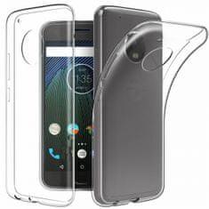 Ovitek za Motorola G5s, ultra tanek, silikonski, prozoren