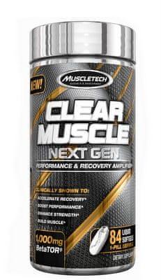 MuscleTech Clear Muscle Next Gen 84kapslí