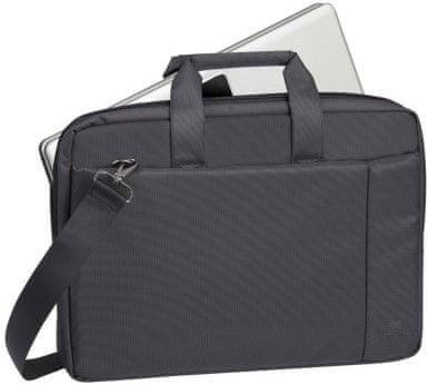 RivaCase torba za prenosni računalnik 39,6 cm/15,6'' 8231/(8231-B), črna