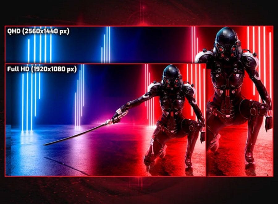 herní monitor AOC CQ27G2U (CQ27G2U/BK) 1 ms doba odezvy