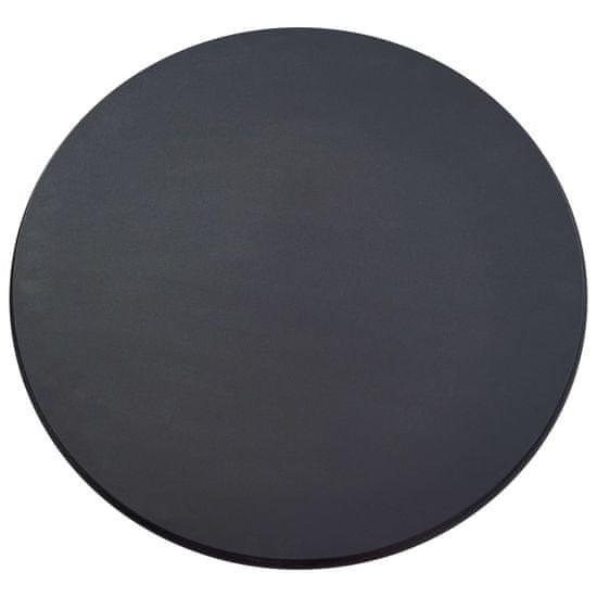 shumee 3-częściowy zestaw mebli barowych, tkanina, ciemnoszary