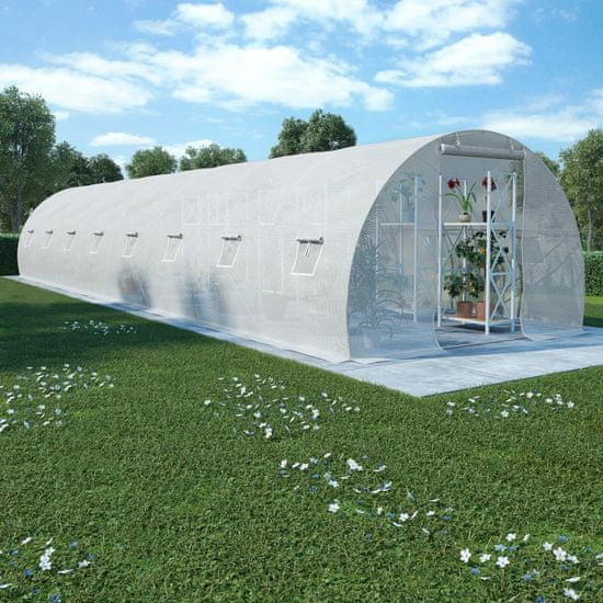 shumee melegház 36 m² 1200 x 300 x 200 cm