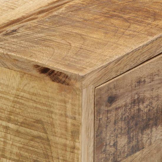 shumee Komoda 88x30x71 cm trden mangov les
