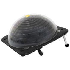 shumee Solarni grelec za bazen iz HDPE in aluminija 75x75x36 cm