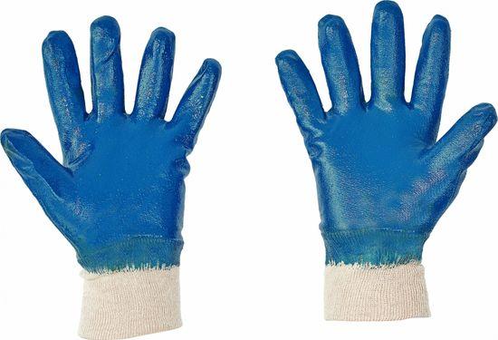 Cerva Nitrilové máčené pracovní rukavice Roller, mechanické - extrémní záťež