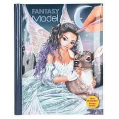 Fantasy Model Barvna knjiga fantazijskega modela, Pravljica s srcem, z nalepkami, knjigo z zvokom in lučmi