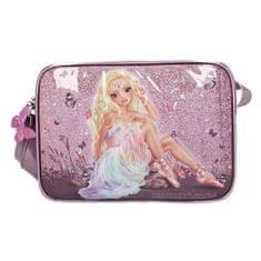 Fantasy Model ramenska torba, Pravljična, svetlo roza s pajkicami