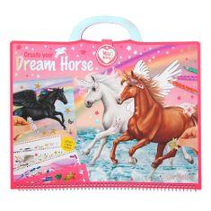 Miss Melody Kolorowanka, kreatywny zestaw , Dream Horse, 305 naklejek