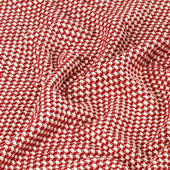 shumee Odeja iz bombaža 220x250 cm rdeča