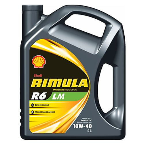 Shell Motorový olej , RIMULA R6 LM 10W-40 4l