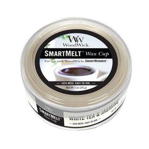 Woodwick Wosk zapachowy , Biała herbata i jaśmin, 28 g