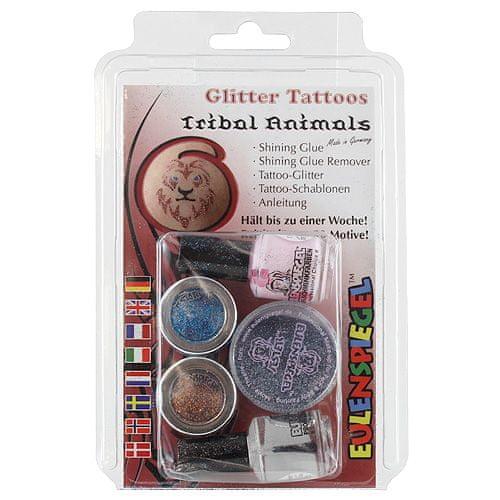 Eulenspiegel Zestaw tatuaży , Błyszczące zestawy tatuaży - Zestaw zwierząt