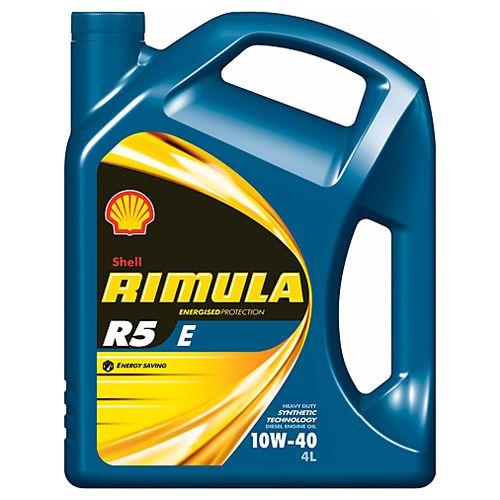 Shell Motorový olej , RIMULA R5 E 10W-40 4l