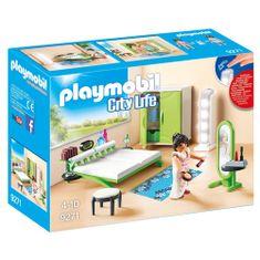 Playmobil Spalnica , Moderna hiša, 24 kosov