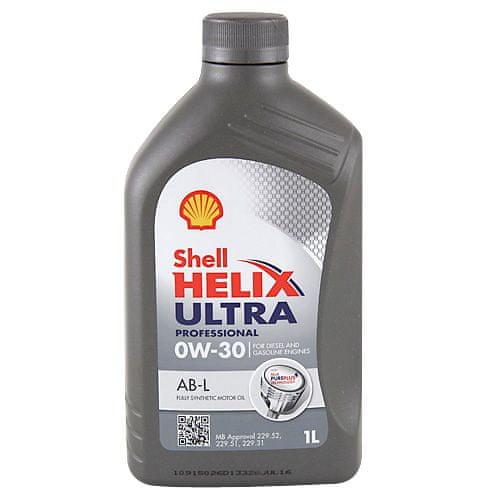 Shell Motorový olej , Helix Ultra Professional 0W-30 1 L