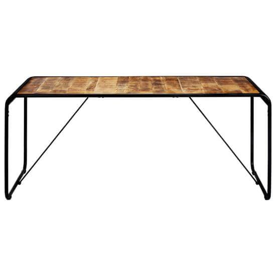 slomart Jedilna miza 180x90x76 cm trden mangov les