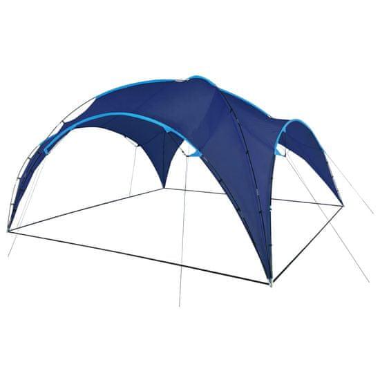 shumee Vrtni šotor obok 450x450x265 cm temno moder