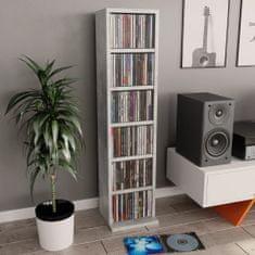 shumee Szafka na CD, szarość betonu, 21x20x88 cm, płyta wiórowa