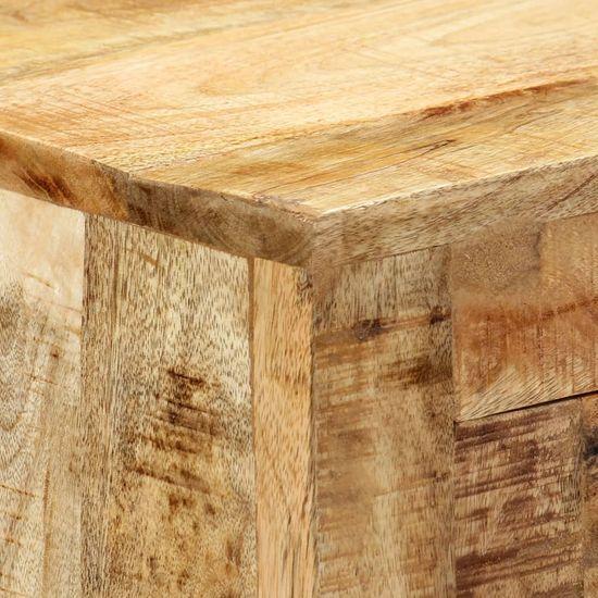 shumee Komoda 80x30x76 cm trden mangov les