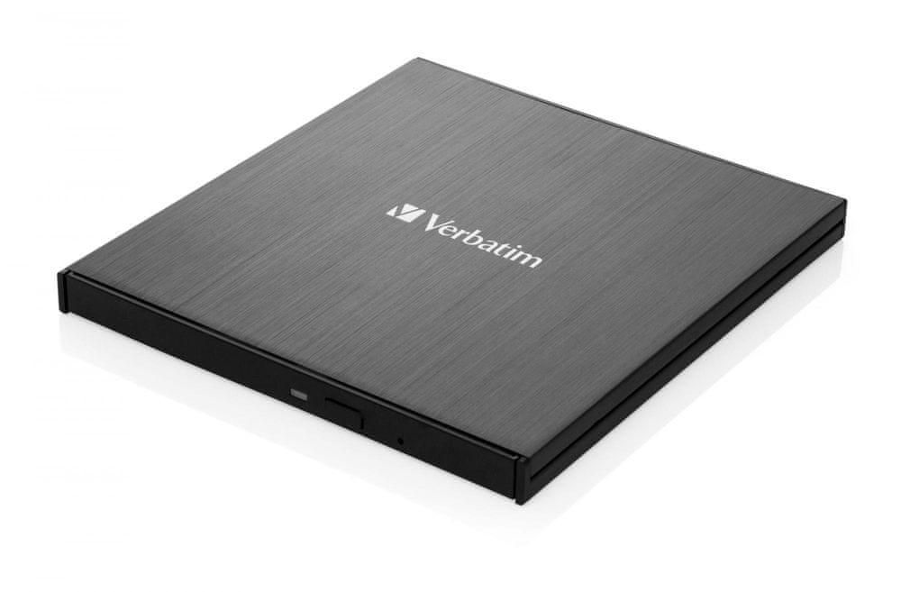 Verbatim Blu-ray Slimline USB 3.1 Gen 1 (USB-C), černá (43889)