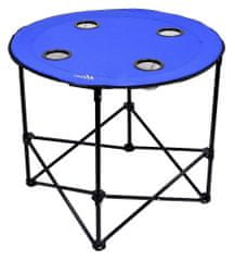 Cattara Stůl kempingový skládací SPLIT modrý