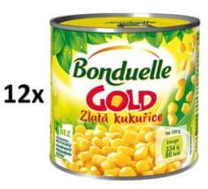 Bonduelle Bonduelle Gold Zlatá kukurica 12× 340 g