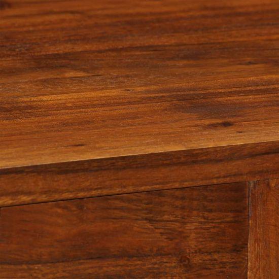 shumee Komoda 115x35x86 cm trden akacijev les