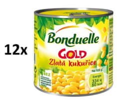 Bonduelle Gold Zlatá kukurice 12 × 170g
