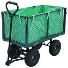 shumee Zahradní ruční vozík zelený 350 kg