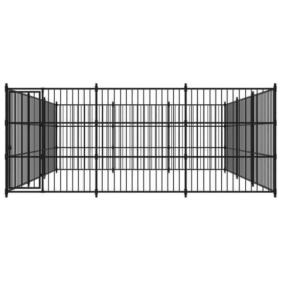 shumee Zunanji pasji boks 450x450x185 cm