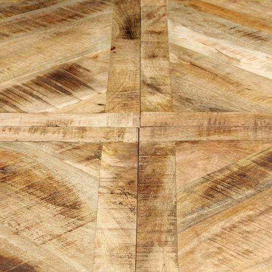 shumee Jedilna miza okrogla 150x76 cm trden mangov les