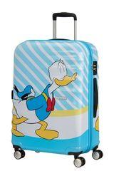 American Tourister AT Dětský kufr Wavebreaker Disney Spinner 67/26 Donald Blue Kiss
