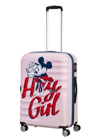 American Tourister AT Dětský kufr Wavebreaker Disney Spinner 67/26 Donald