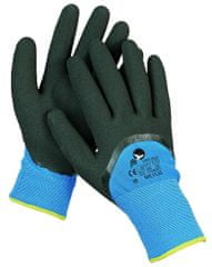 Free Hand Zateplené máčené nitrilové bezešvé pracovní rukavice Milvus, chladuodolné 8/M