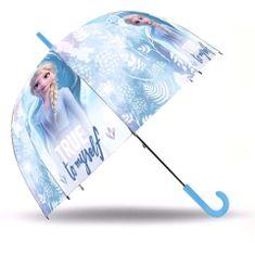"""EUROSWAN Automatikus esernyő átlátszó """"Jégvarázs II - Elsa"""""""